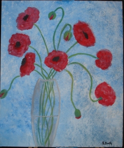 Poppies for Mom